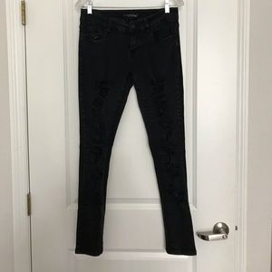 Lovesick Black Ripped Jeans